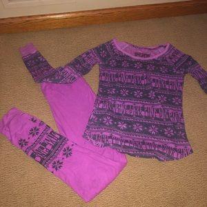 VS PINK pajama set